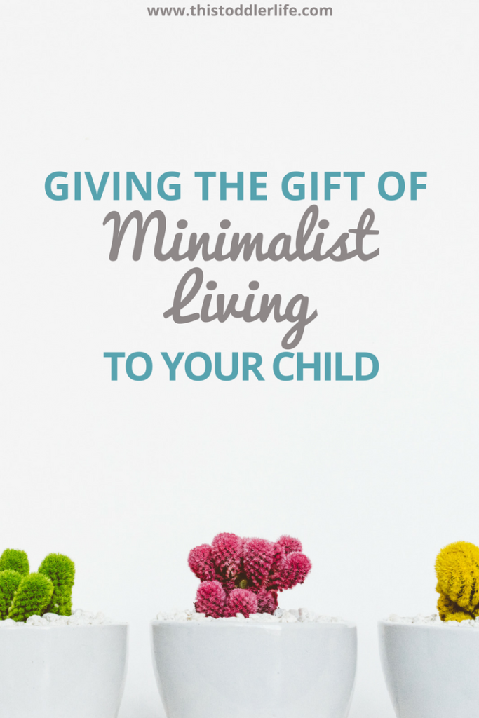 Minimalist Living and Giving Gifts