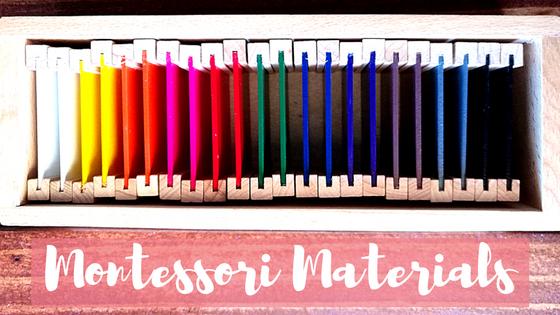 Montessori materials for toddlers