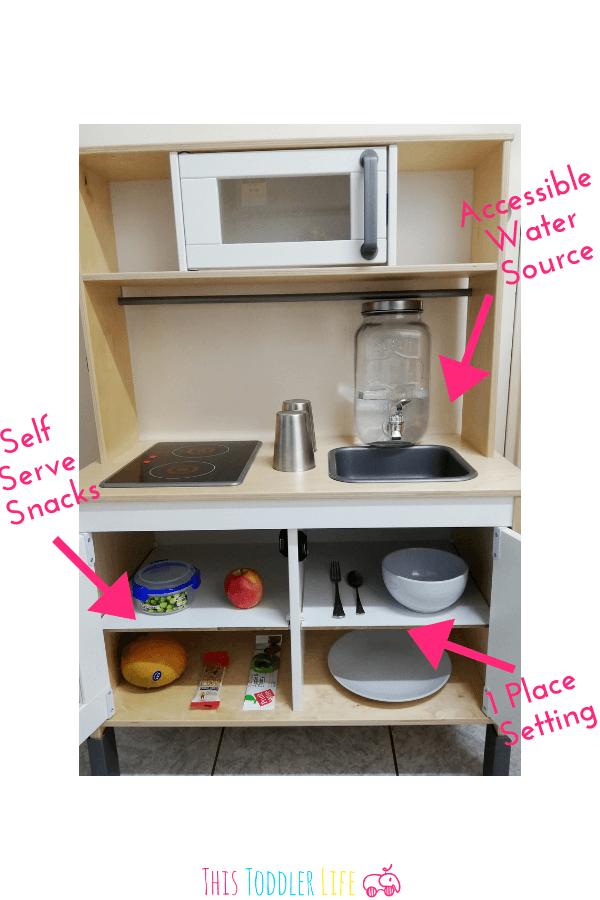 Guide For Creating A Montessori Kitchen, Glass Beverage Dispenser Ikea