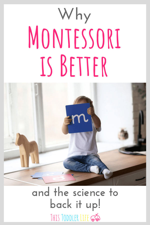 Why Montessori is better for you toddler.
