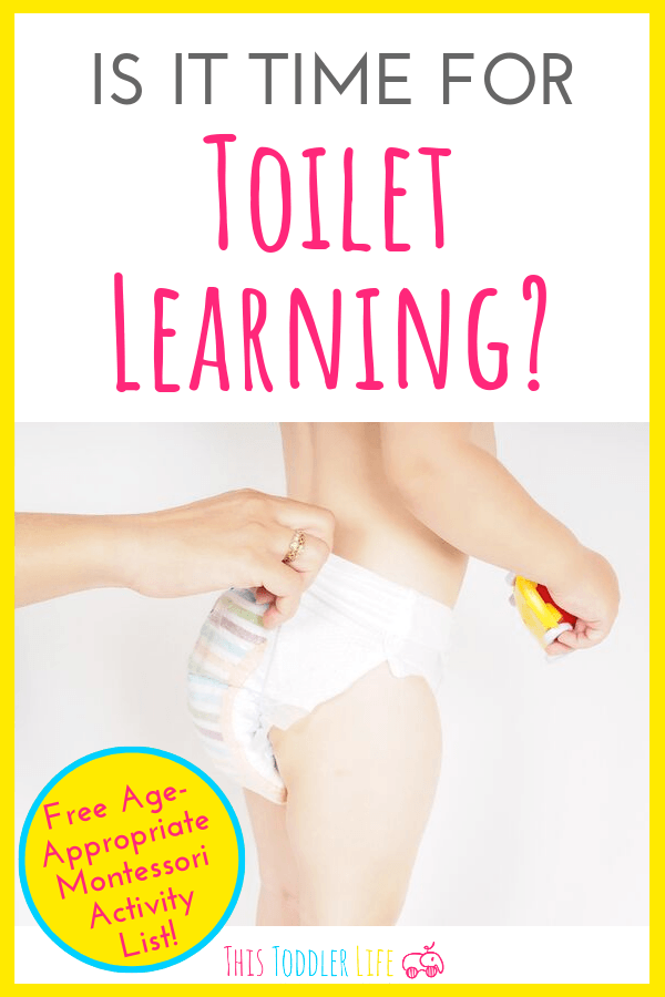 Is it time for toilet learning with your child?