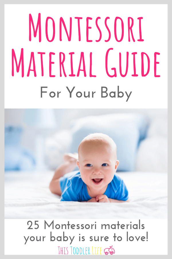 Montessori materials guide for your baby!