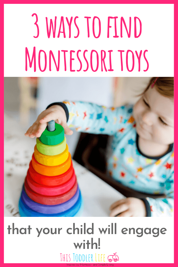 Montessori toys that your child will engage with