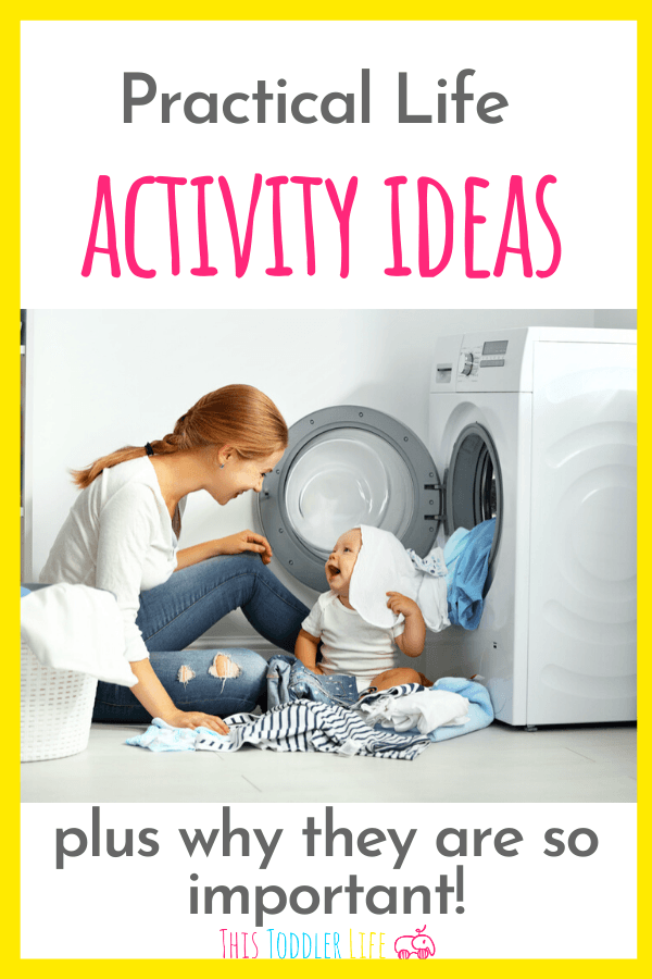 Practical life activity ideas plus why they are so important