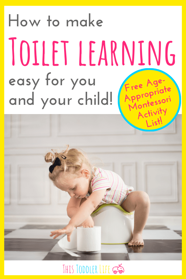 How to make toilet learning easy for you and your child
