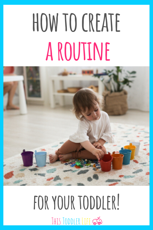 How to create a Montessori routine for your toddler
