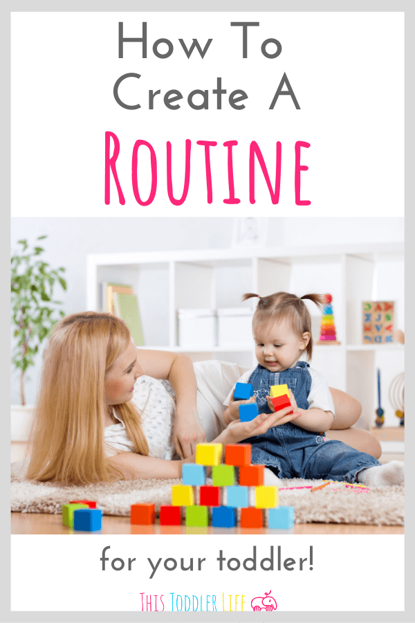How to create a routine for your toddler. Learn how to create a Montessori routine.