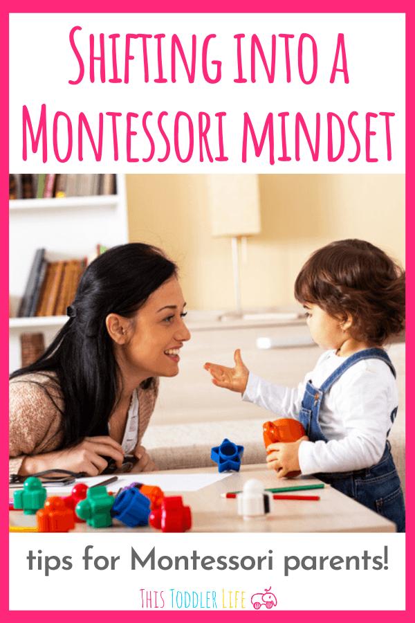 Shifting into a Montessori Mindset
