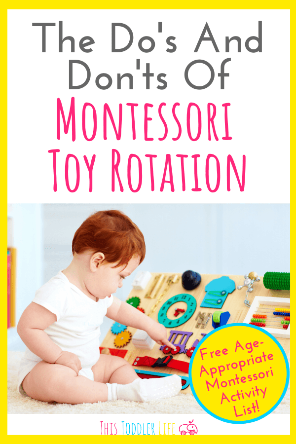 THE DO'S AND DON'TS OF MONTESSORI TOY ROTATION - This Toddler Life