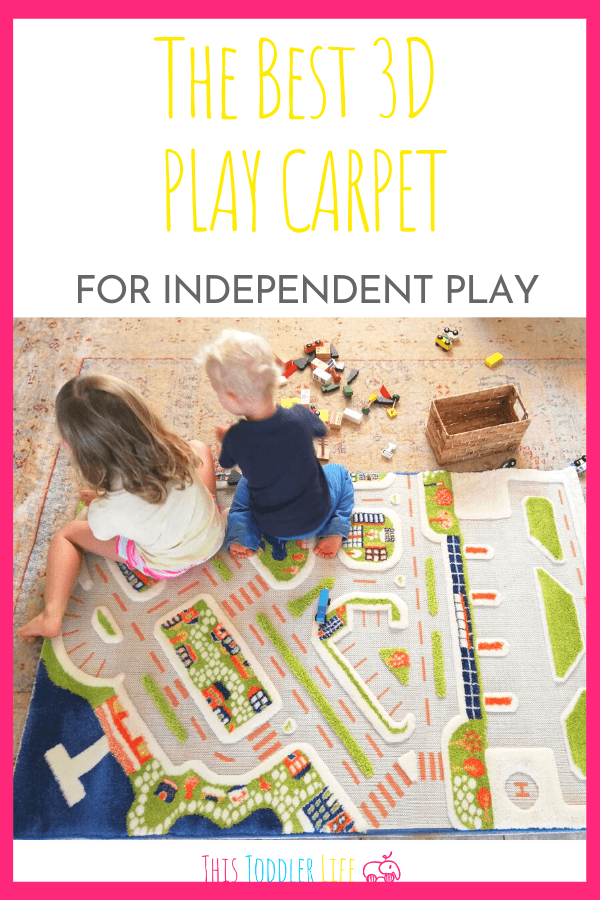 3D PLAY CARPET FOR INDEPENDENT PLAY