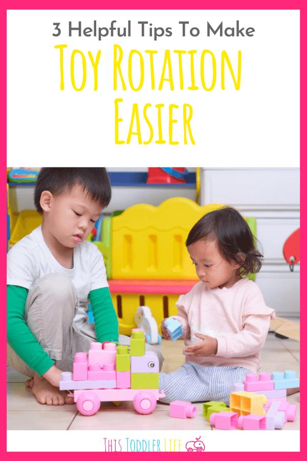 Consejos de rotación de juguetes para familias Montessori